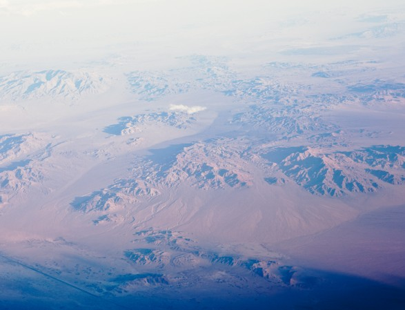 Arial landscape 1b 587x449 Somewhere over Nevada 