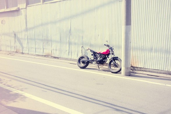Chopped Monkey Bike 587x392 One day in Tokyo