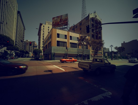 Downtown L.A 587x449 Jesus Saves