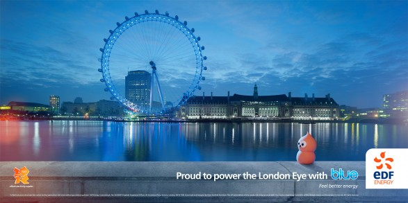 London Eye 48 Sheet 587x293 New EDF campaign