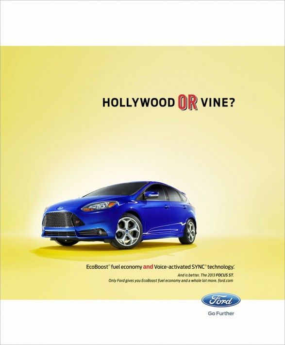 Nick Meek Ford Hollywood or Vine1 587x710 Ford for Team Detroit