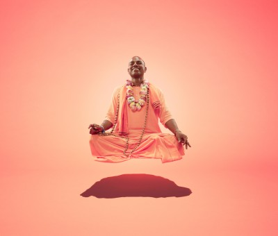 Floating monk