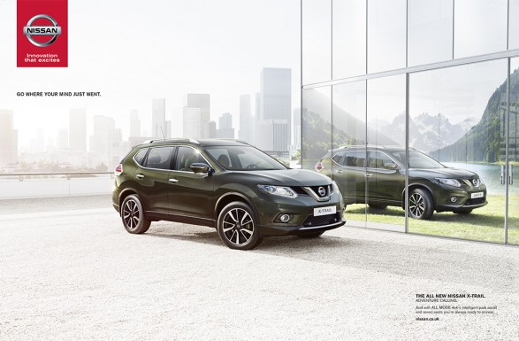 Nissan go anywhere 587x385 Nissan X Trail