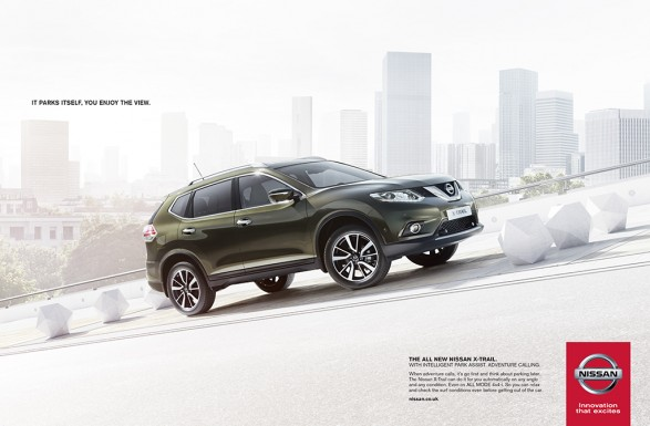 Nissan park assist 587x385 Nissan X Trail