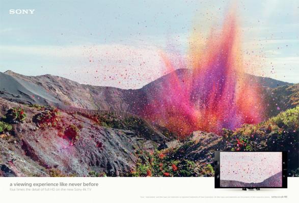 Sony Bravia Volcano1 587x399 Sony Bravia