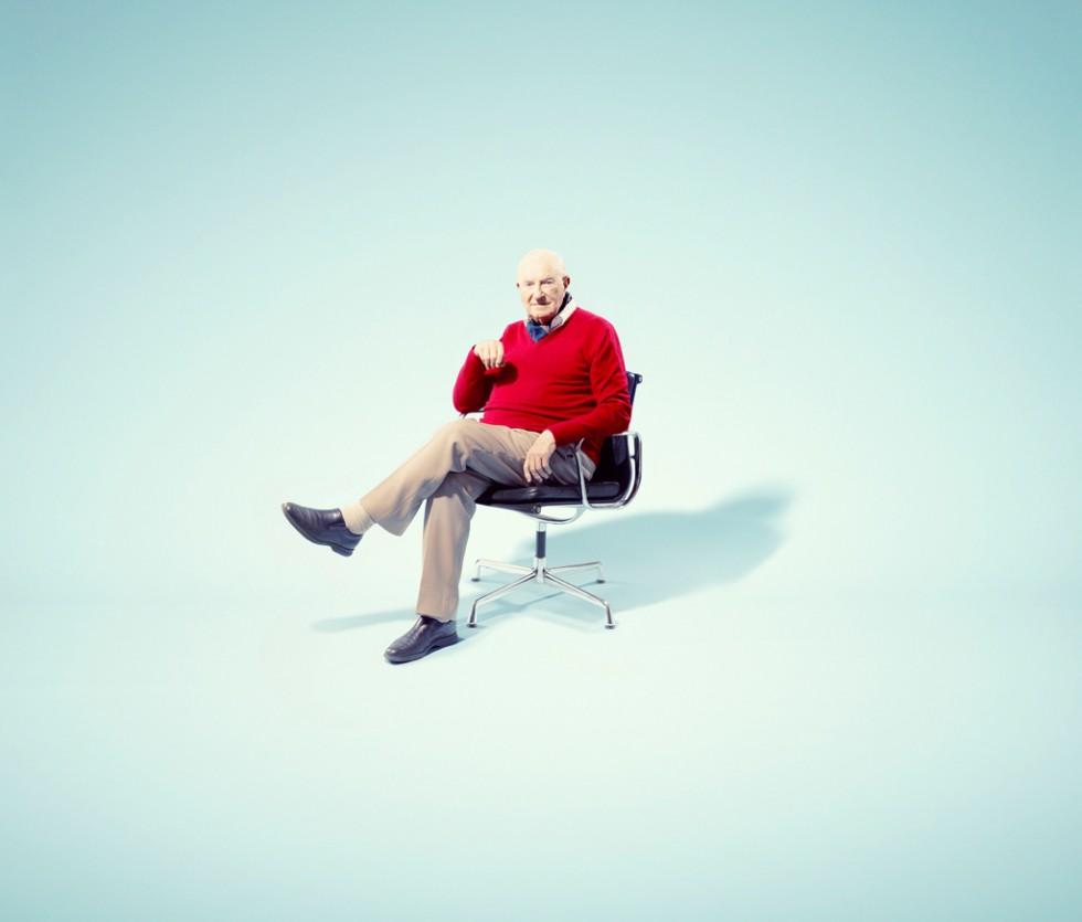 Tony Dell at 90