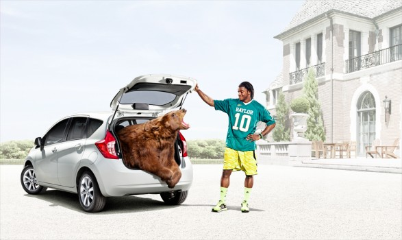 VERSA BEAR SPREAD FINAL LA copy 587x350 Nissan Heisman for TBWA Chiat Day L.A