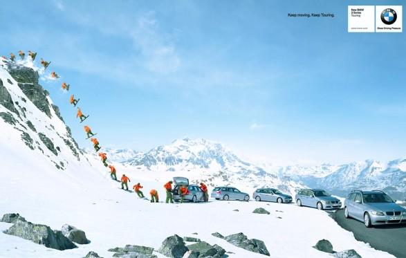 c bmw 587x373 BMW   Snowboard