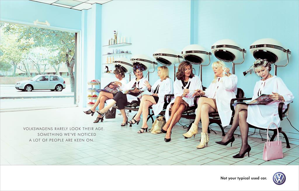Volkswagen  Hairdresser  Nick Meek  Make Good Time