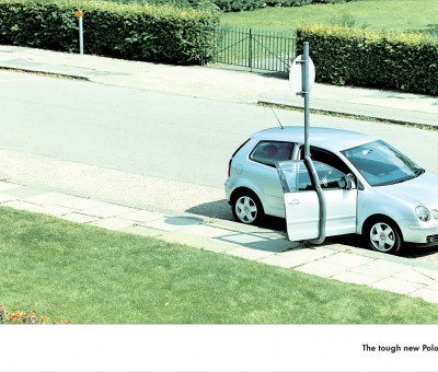 Volkswagen - Lamp post