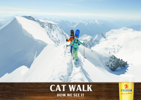 catwalk 587x415 Calanda for Publicis Zurich