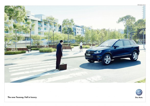 crossing1 587x415 New VW Touareg campaign for DDB Sydney