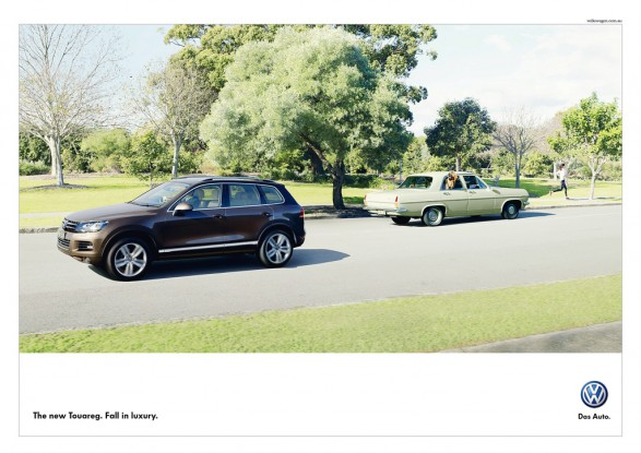 dog1 587x415 New VW Touareg campaign for DDB Sydney