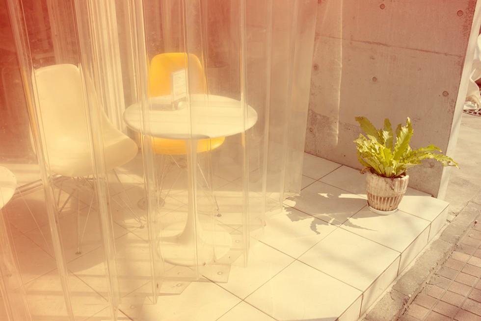 Curtain cafe