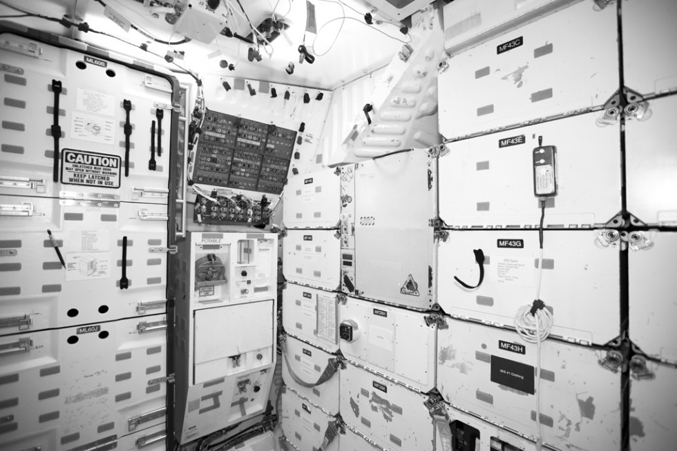 Shuttle galley