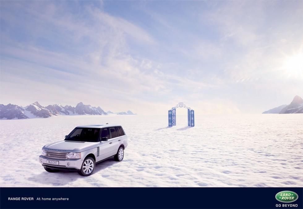 Range Rover - Snow