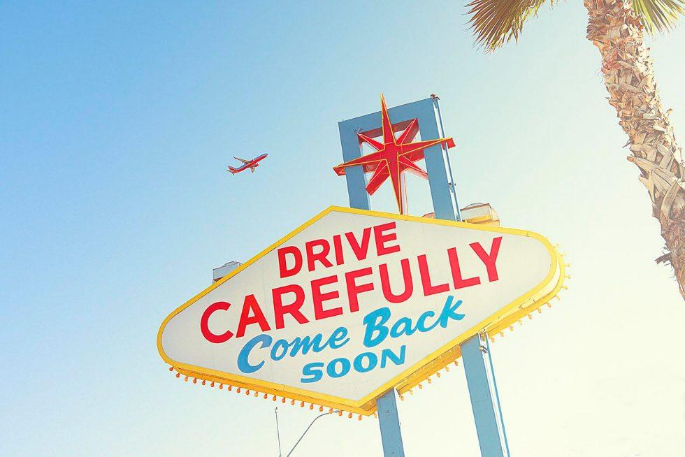Nick Meek - Las Vegas Sign